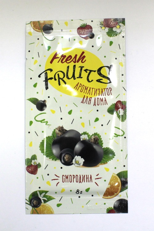 Fresh fruits Ароматизатор для дома Смородина АР-27 (уп. 5 шт.)